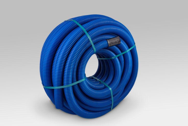 ROD-VENT- Kształtowa giętka rura instalacyjno-klimatyzacyjna dwuścianowa trójwarstwowa rura polietylenowa (trójwarstwowa strukturalna rura instalacyjna PE)